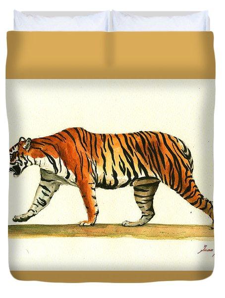 Tiger Animal  Duvet Cover