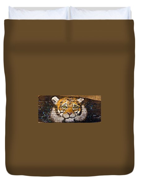 Tiger Duvet Cover