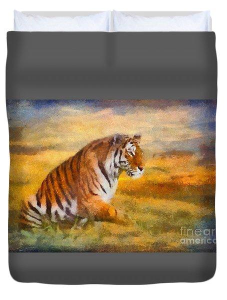 Tiger Dreams Duvet Cover