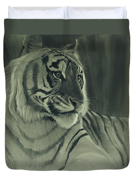 Tiger Light Duvet Cover