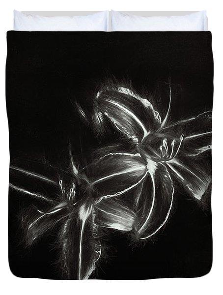 Tiger Lilies Duvet Cover