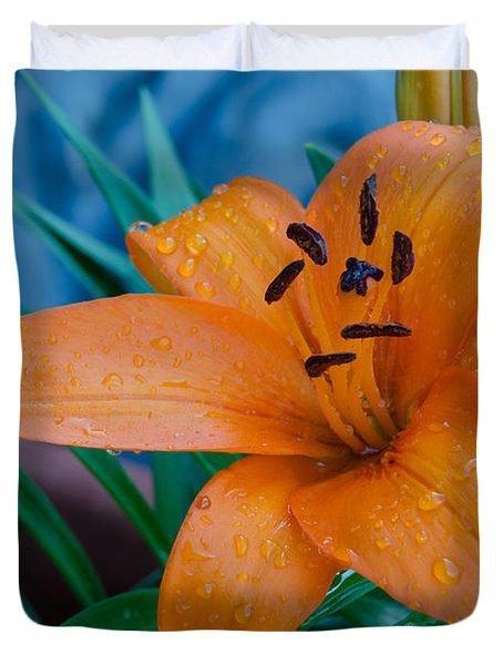 Tiger Lily Duvet Cover