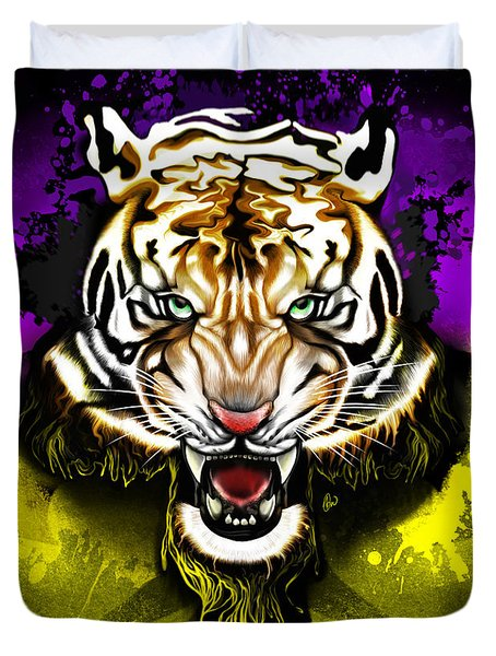 Tiger Rag Duvet Cover