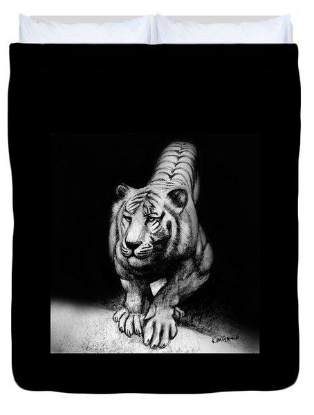Tiger Study Duvet Cover