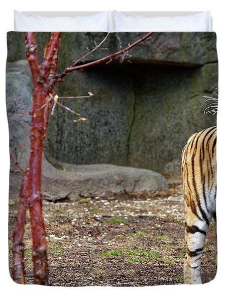 Tiger Tiger Burning Bright Duvet Cover