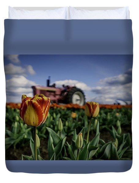 Tiger Tulip Duvet Cover