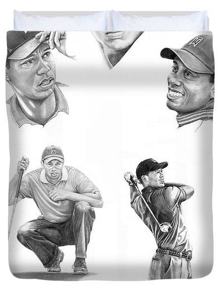 Tiger Woods- Full Circle Duvet Cover