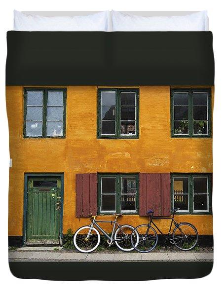 Tigergade Apartment Scene Duvet Cover