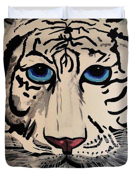 Tigger Duvet Cover by Nora Shepley