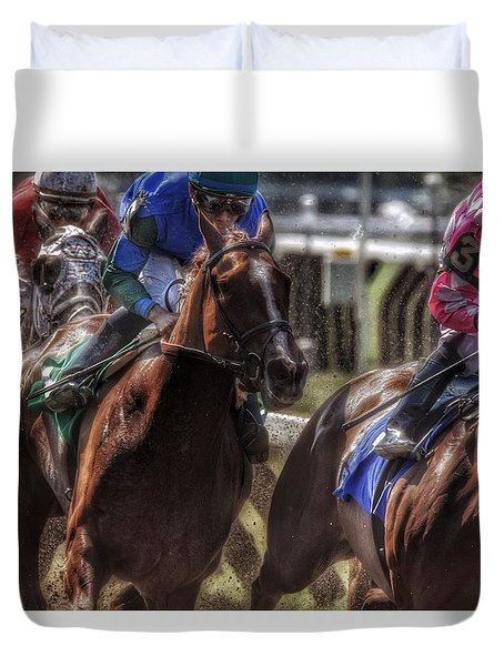 Tight Quarters Duvet Cover