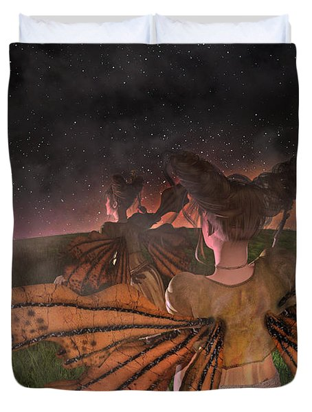 Till I See You Again  Duvet Cover