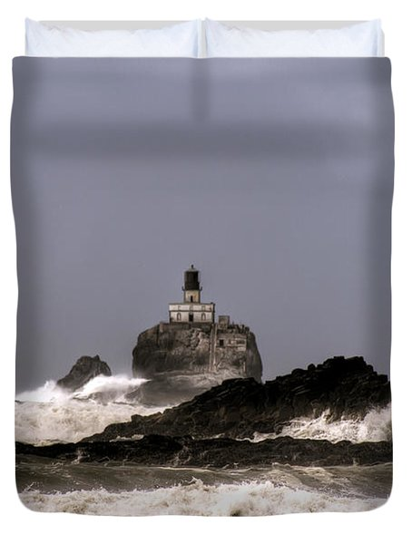 Tillamook Lighthouse Duvet Cover