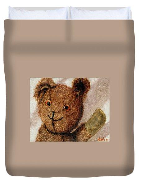 Tillie - Vintage Bear Painting Duvet Cover