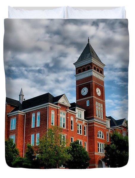 Tillman Hall Duvet Cover by Lynne Jenkins