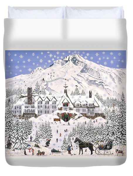 Timberline Lodge Duvet Cover