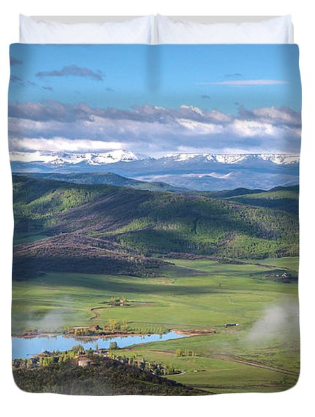 Timbers View  Duvet Cover