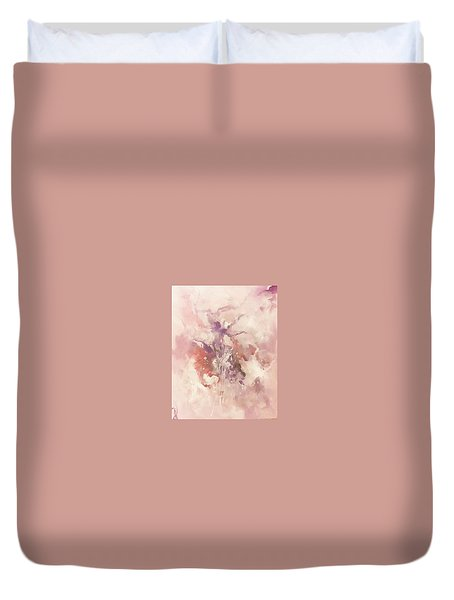 Duvet Cover featuring the painting Time And Again by Raymond Doward
