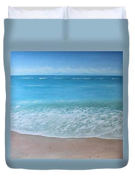 Time And Tide Duvet Cover by Paul Newcastle