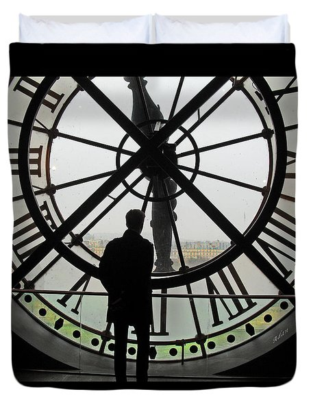 Time At The Musee D'orsay Duvet Cover