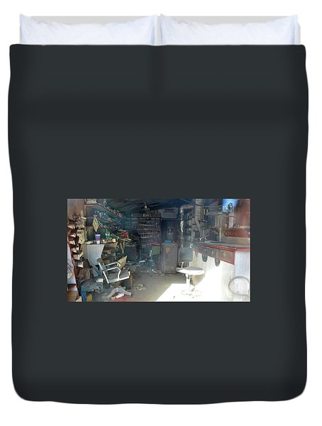 Time Capsule  Duvet Cover