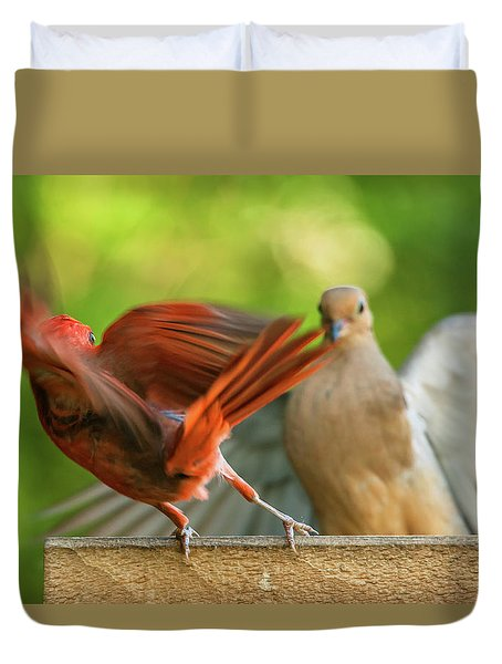Time For Me To Fly Duvet Cover