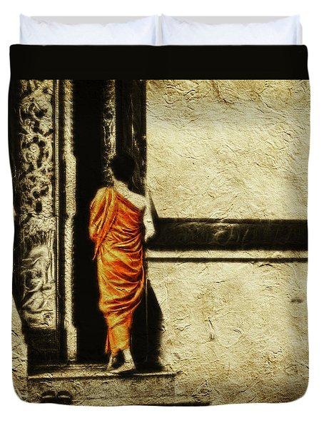 Time For Prayer Duvet Cover