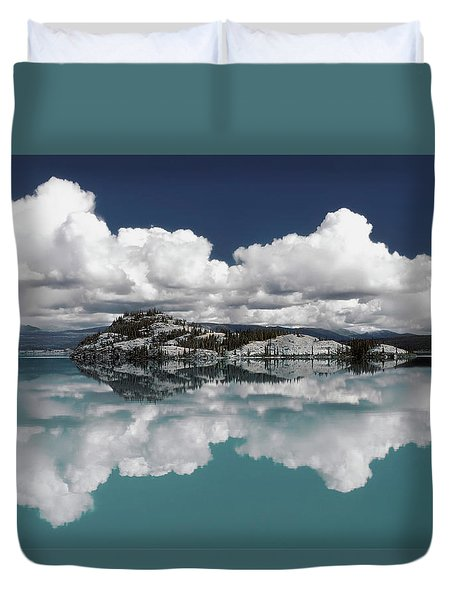 Time For Reflection Duvet Cover