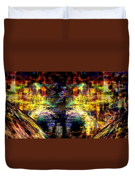 Time Frame Duvet Cover
