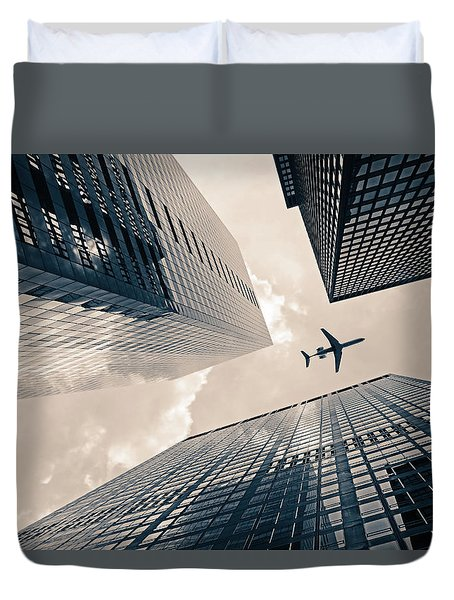 Time Frame Duvet Cover