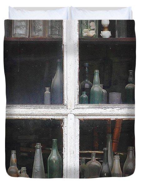Time In A Bottle Duvet Cover