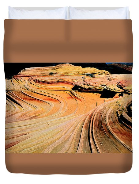 Time Lines Duvet Cover
