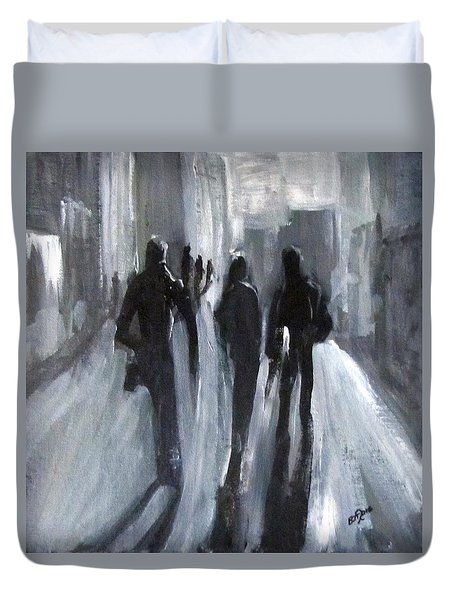 Time Of Long Shadows Duvet Cover