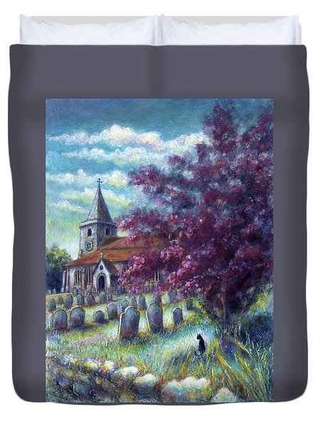 Time Our Companion Duvet Cover