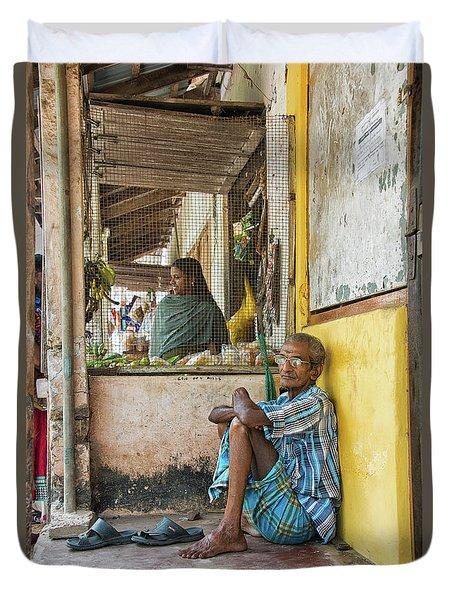 Kumarakom Duvet Cover