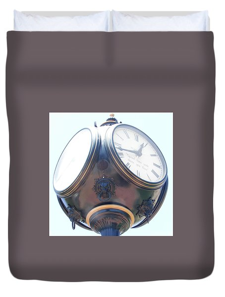 Time Piece Duvet Cover by Dana Patterson