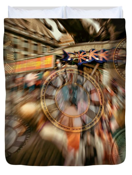 Time  Piece Duvet Cover