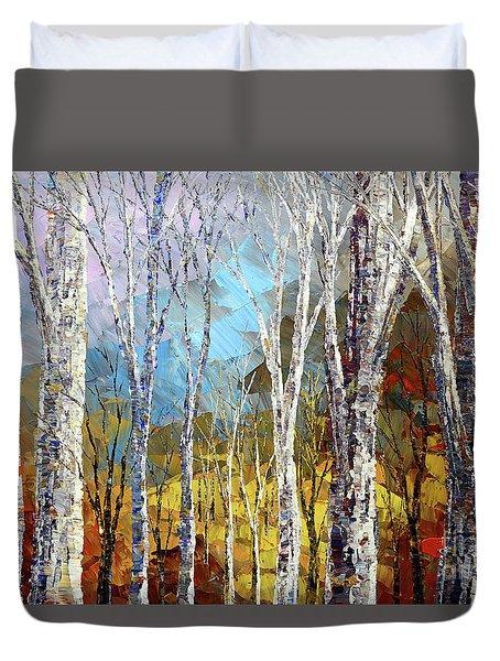 Time Tapestry Duvet Cover