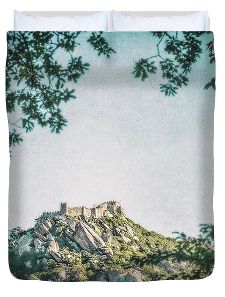 Time Temple Duvet Cover