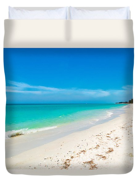 Time To Breathe Duvet Cover