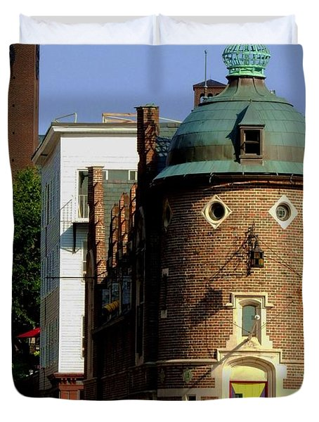 Time To Face The Harvard Lampoon Duvet Cover