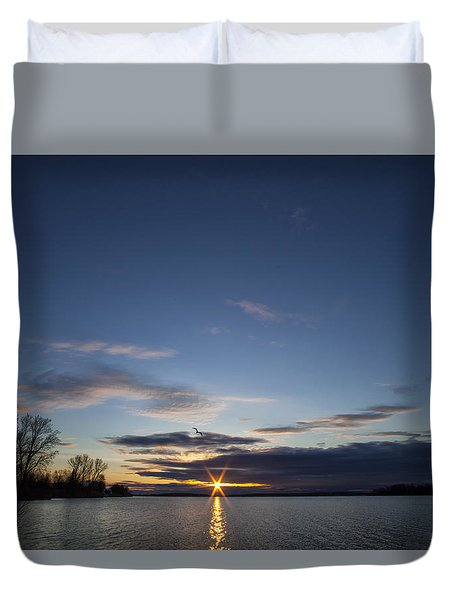 Time To Get Up Duvet Cover