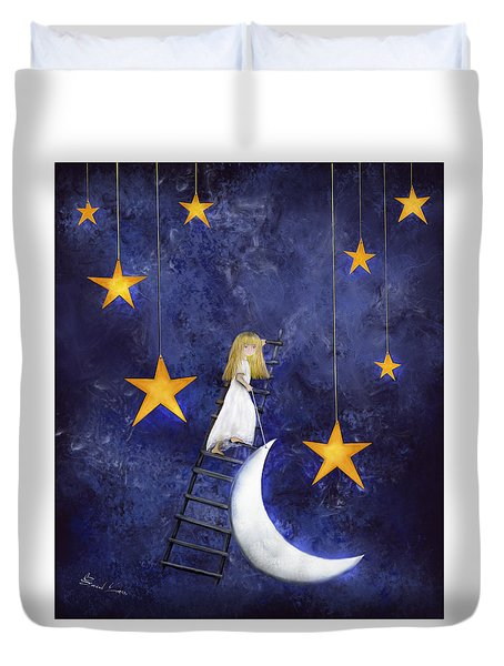 Time To Go To Sleep By Sannel Larson Duvet Cover