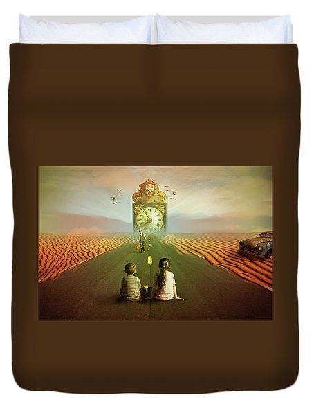 Time To Grow Up Duvet Cover by Nathan Wright