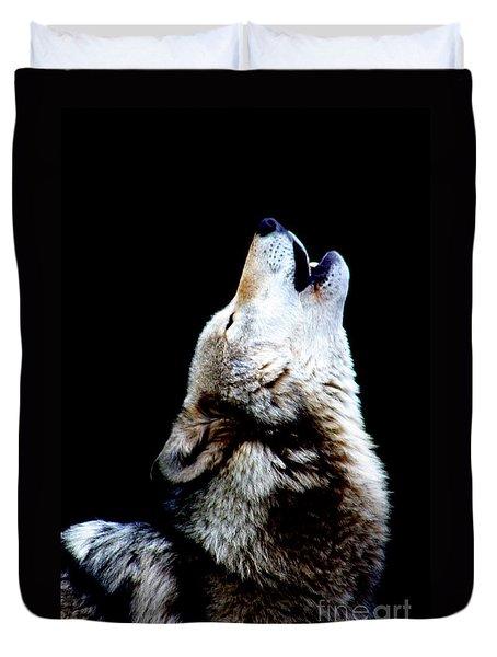 Time To Howl Duvet Cover
