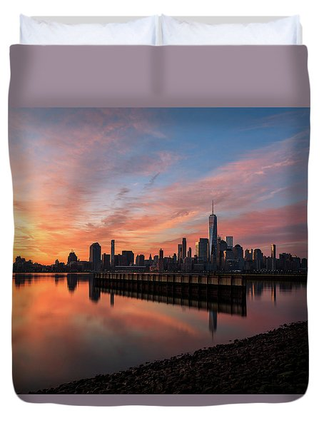 Time To Reflect  Duvet Cover