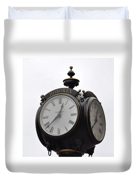 Time To Remember Duvet Cover