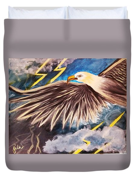 Time To Take Flight  Duvet Cover