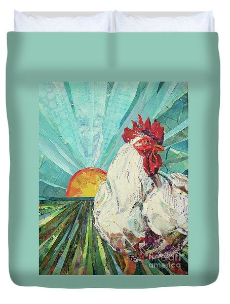 Time To Wake Up Duvet Cover
