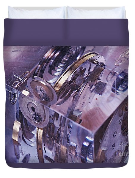 Time Trapped Duvet Cover