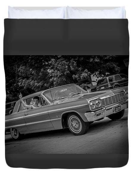 Time Traveler Duvet Cover by Ray Congrove